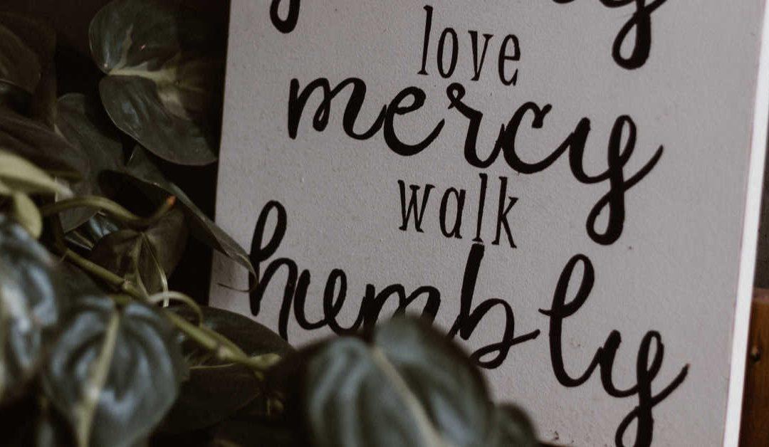 Mercy Always Trumps Judgment